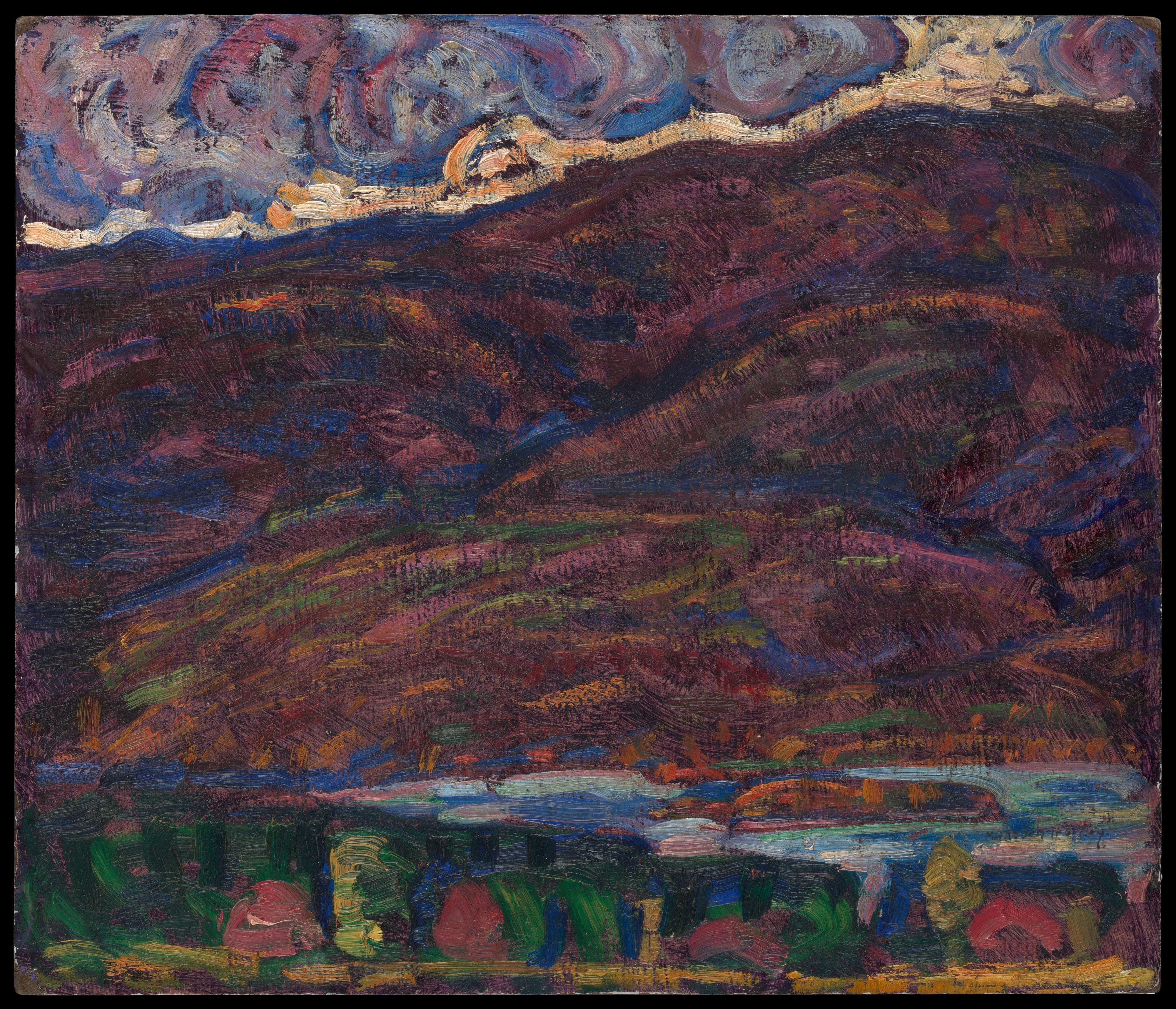 Marsden Hartley Autumn Color