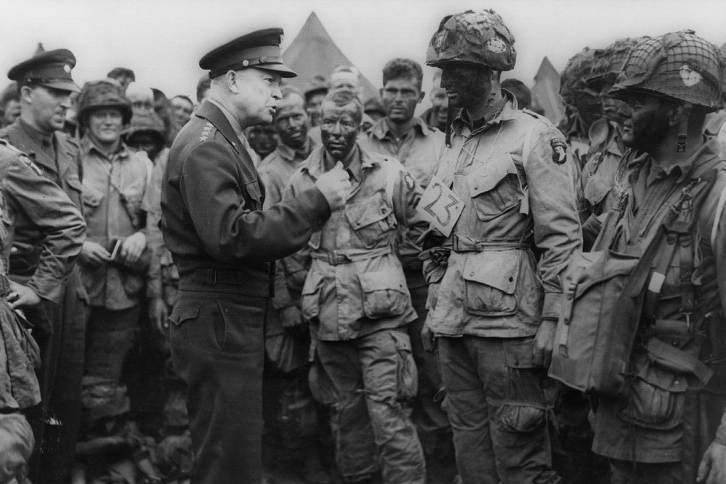 Eisenhower before D-Day