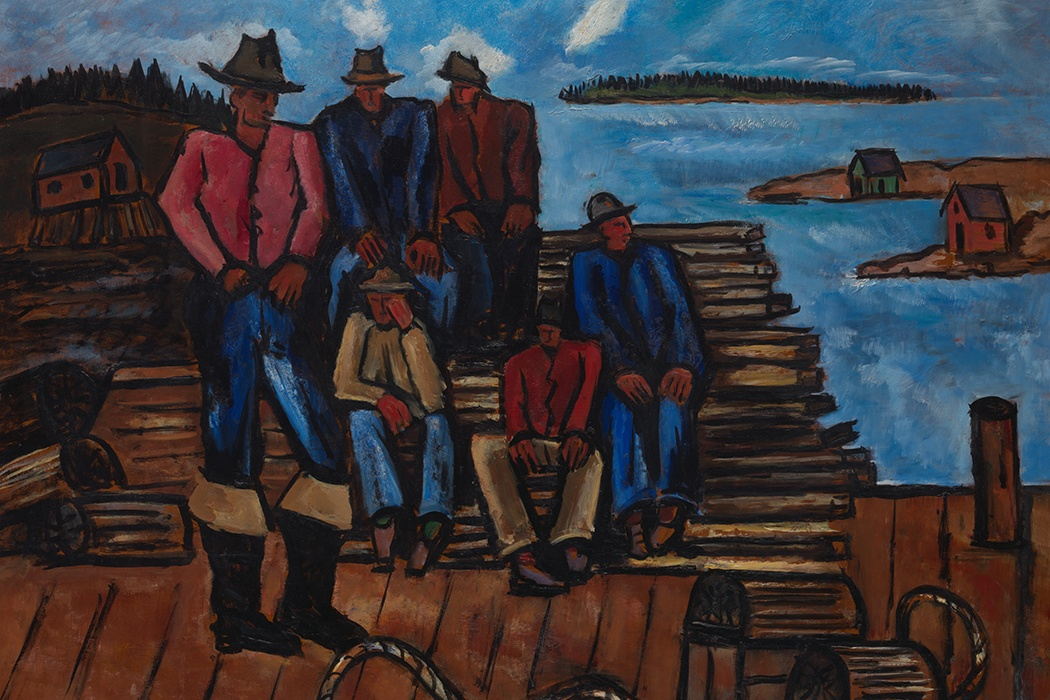 Marsden Hartley Lobster Fishermen