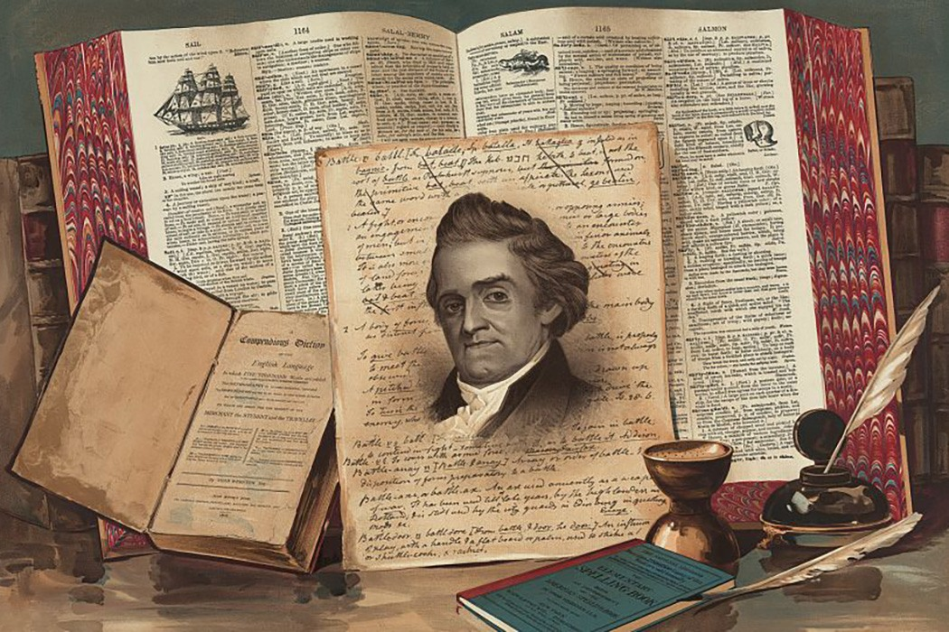 Noah Webster painting