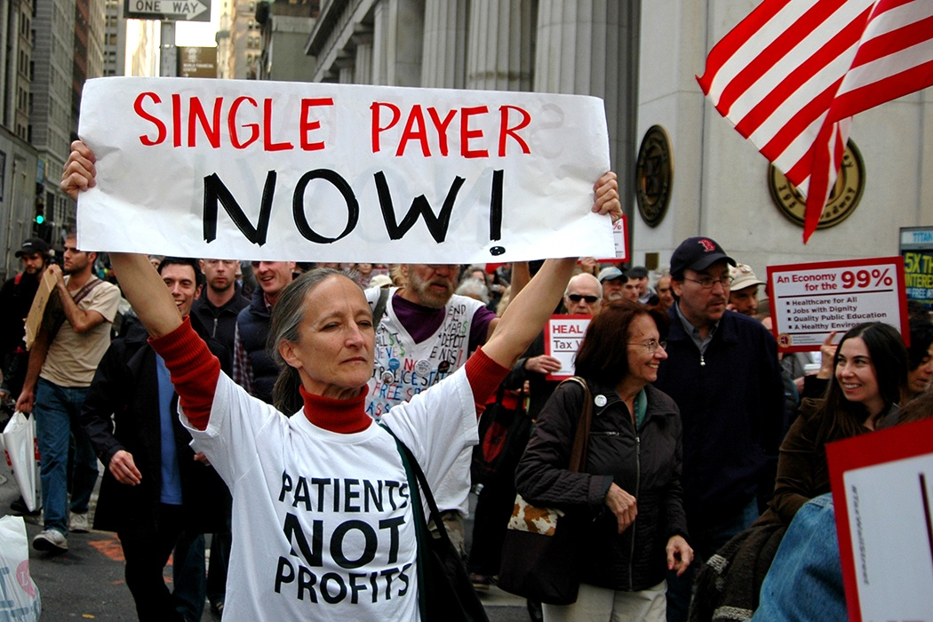 single-payer protest