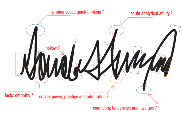 Trump signature analysis