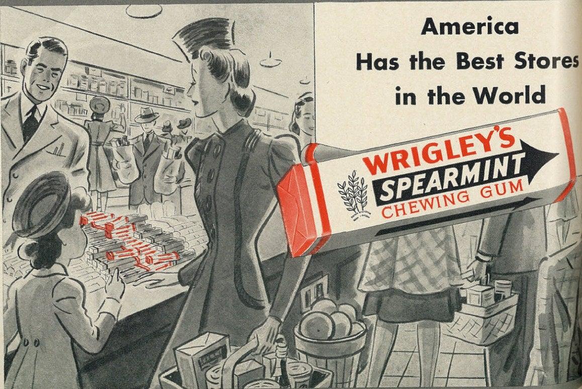 Wrigley's ad 1941