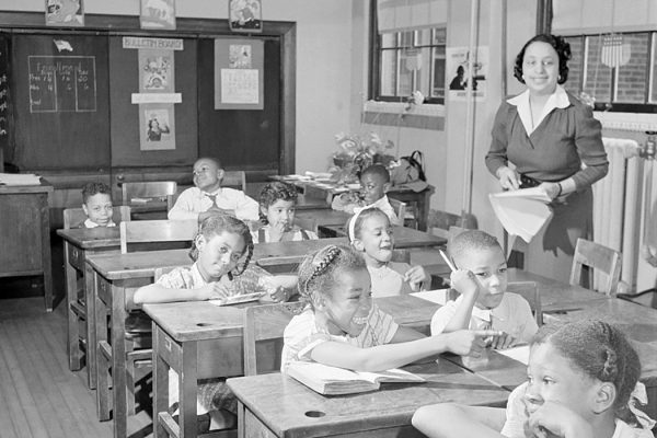DC African-American classroom, 1942