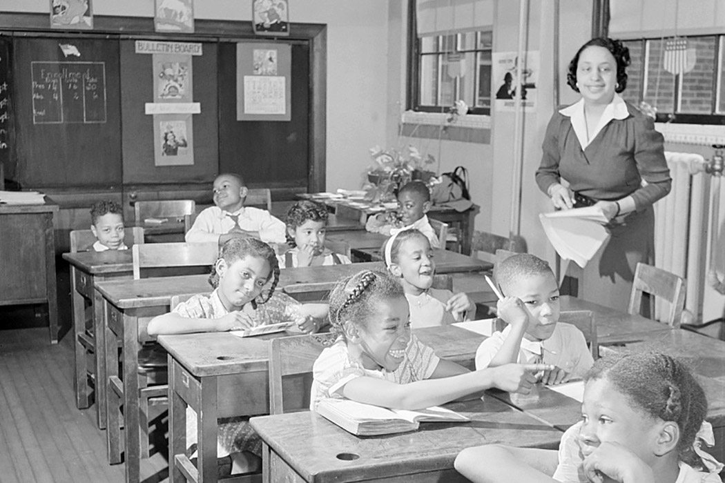 DC African-American classroom, 1942