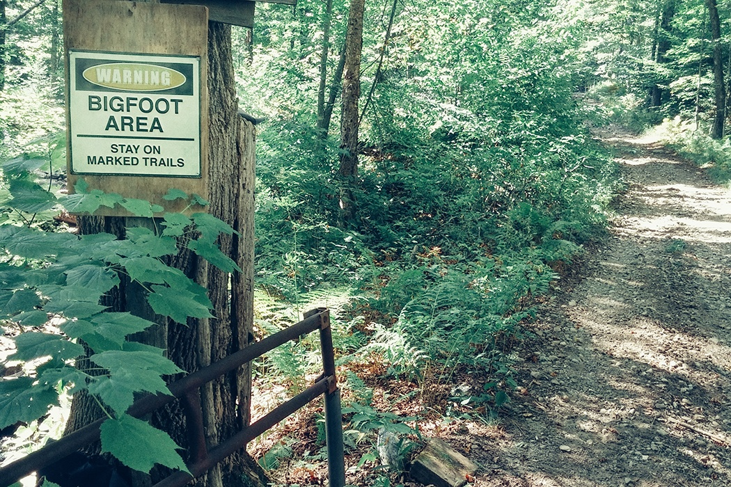 Bigfoot signage