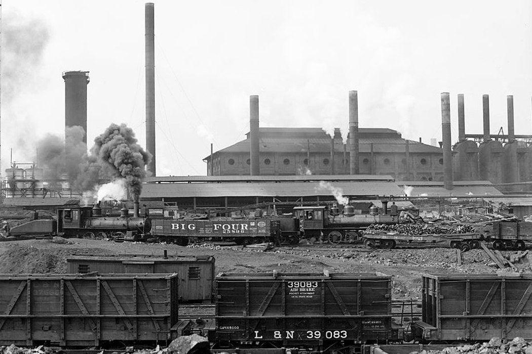 Birmingham trainyard