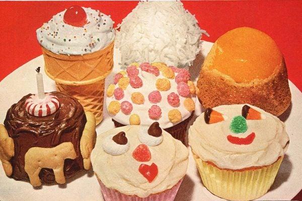 Betty Crocker cupcakes