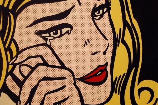 Lichtenstein Crying Woman