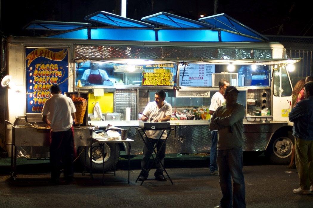 Los Angeles taco truck