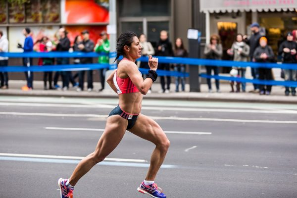 NYC Marathon runner