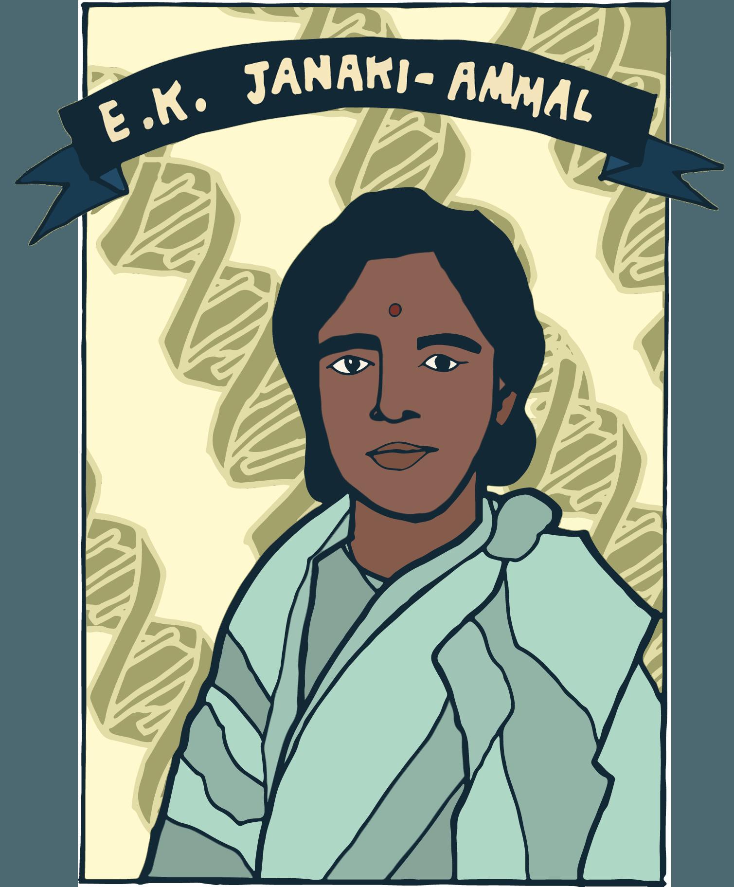 E.K. Janaki-Ammal