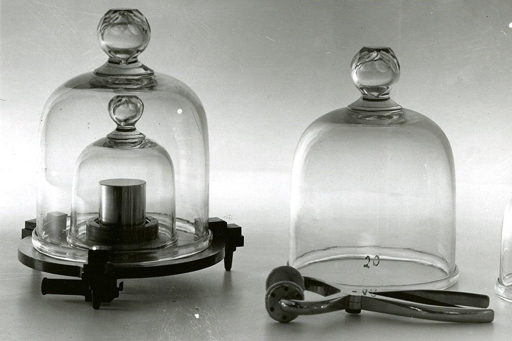 platinum-iridium cylinder