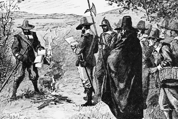 Puritan Book Burning