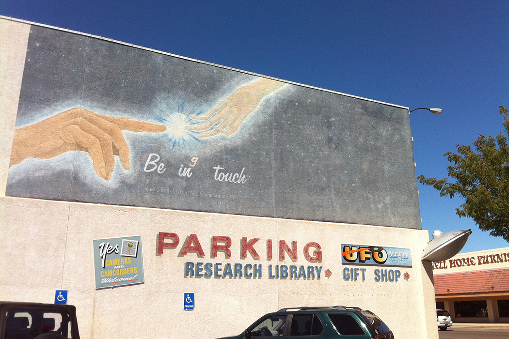Roswell NM mural