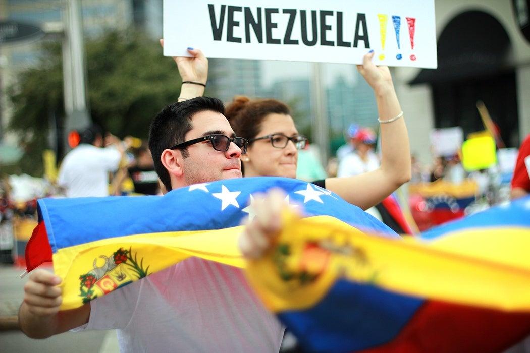 SOS Venezuela Protest