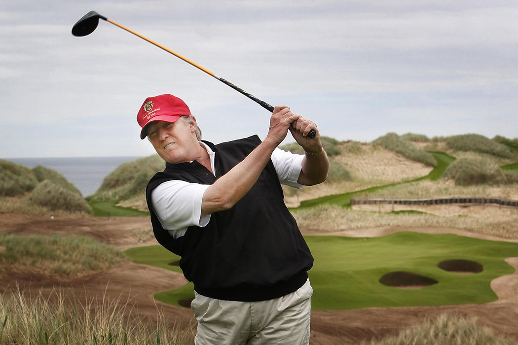 Donald Trump golf resort