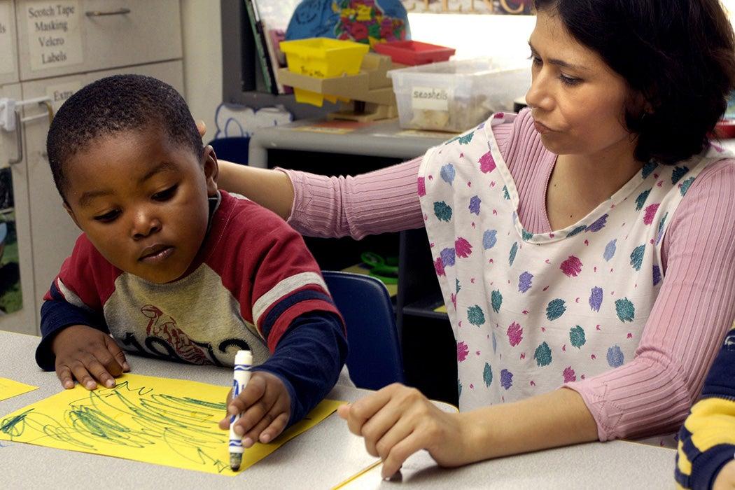 Hurricane Katrina drawing