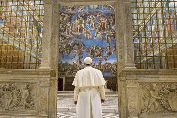 Pope Francis Sistine Chapel