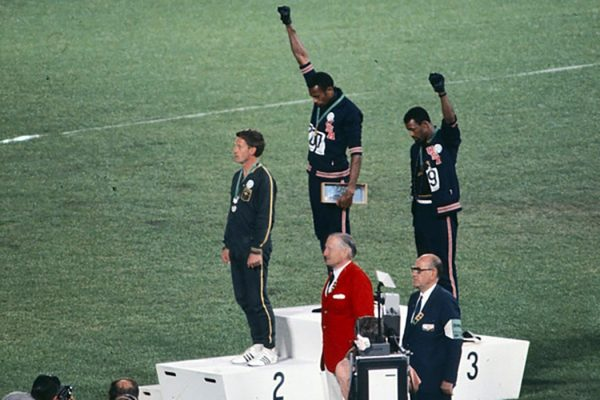 black power salute olympics