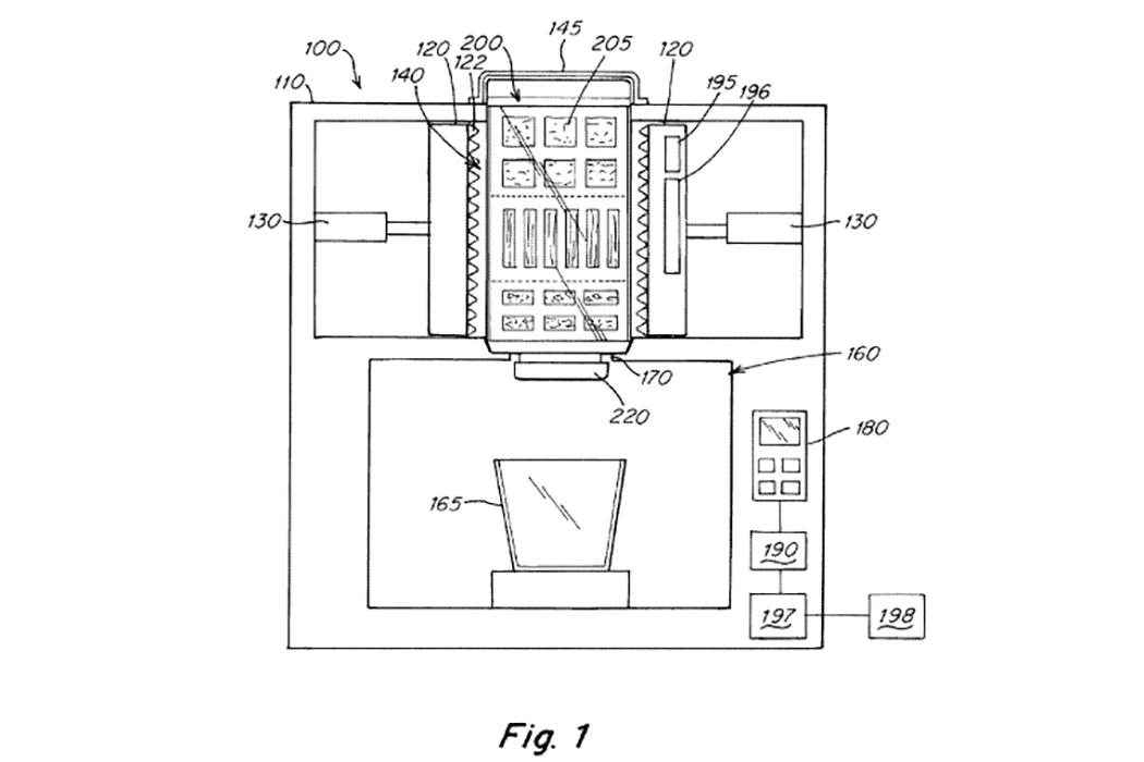 Juicero patent