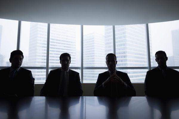 Ominous Businessmen