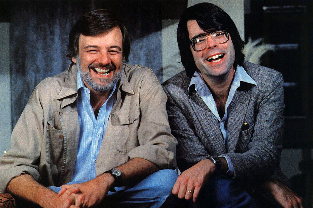 Stephen King and George Romero