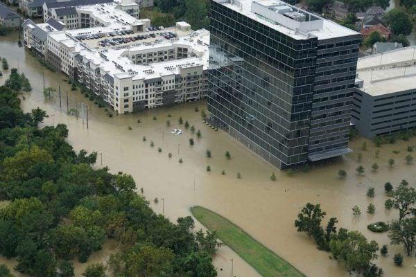 flooded houston hurricane harvey impact