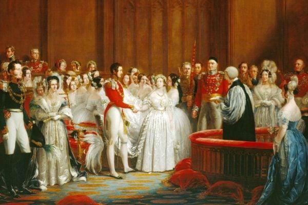 Victoria wedding