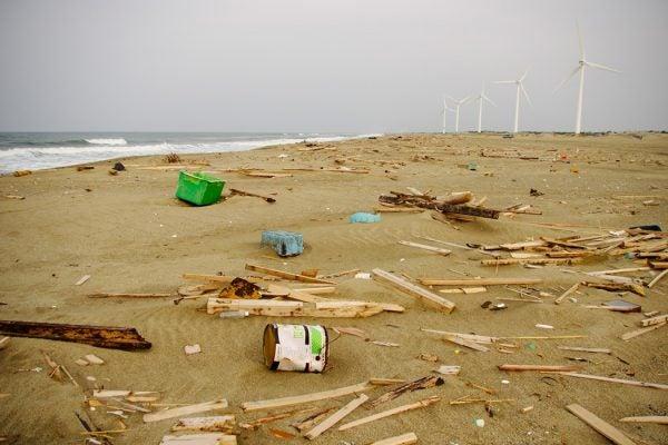 Japanese tsunami debris