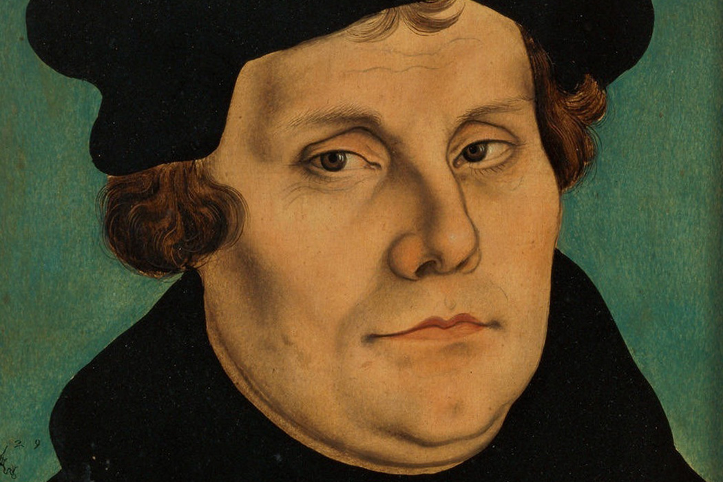 Martin Luther Cranach portrait