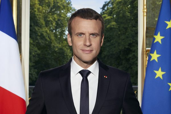 Official Macron portrait