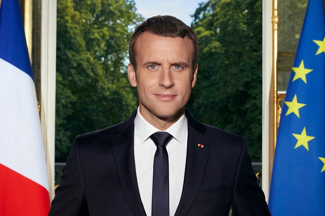Official Macron portrait