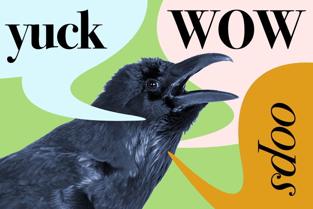 Origins of speech crow