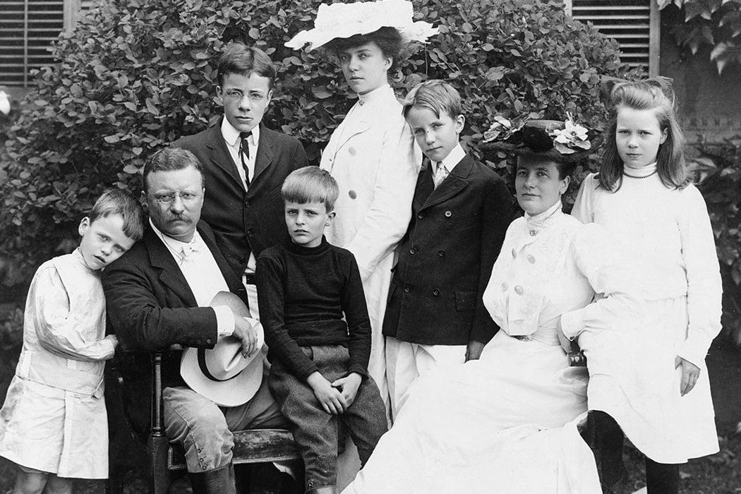 Roosevelt Family 1903