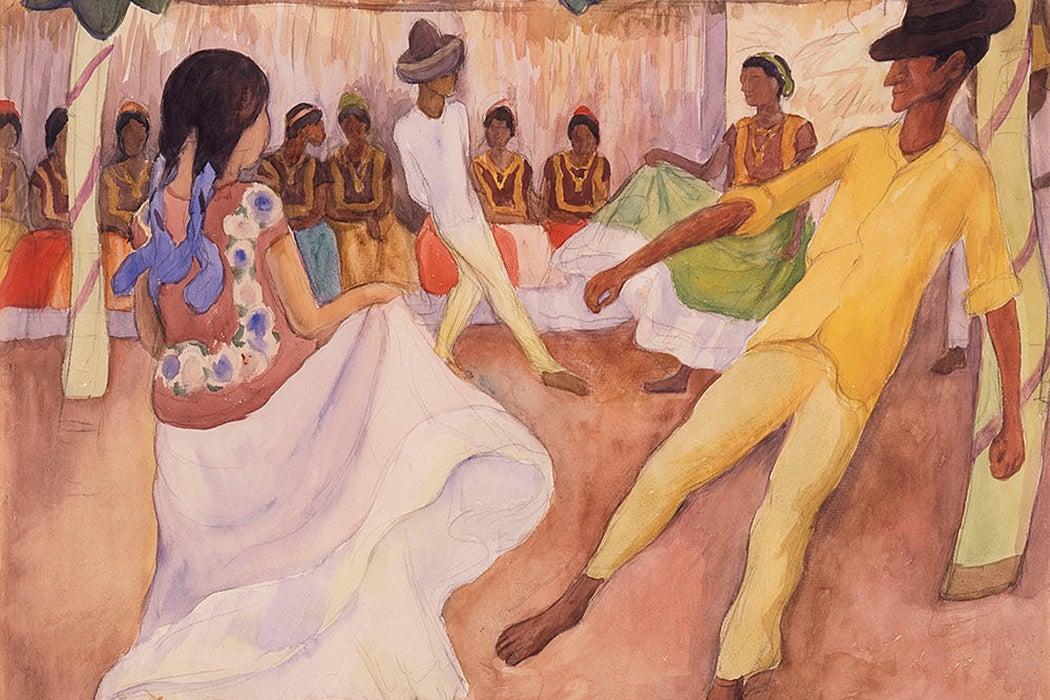 Diego Rivera sketch