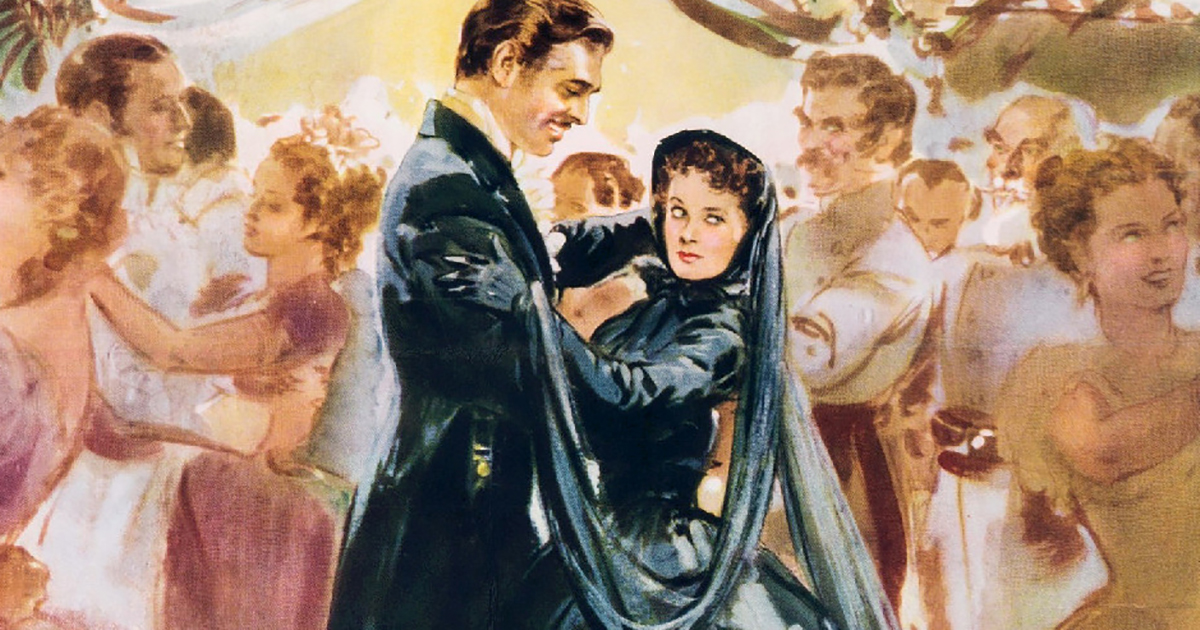 the dangers of gone with the wind s romantic vision of the old south