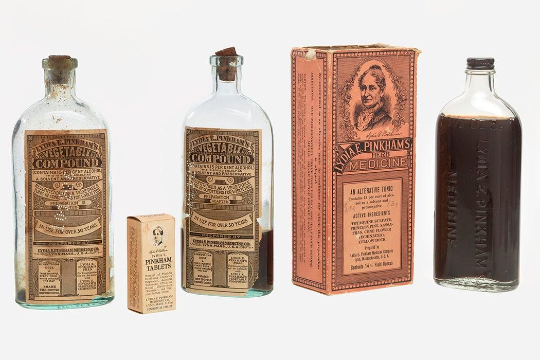 Lydia Pinkham products