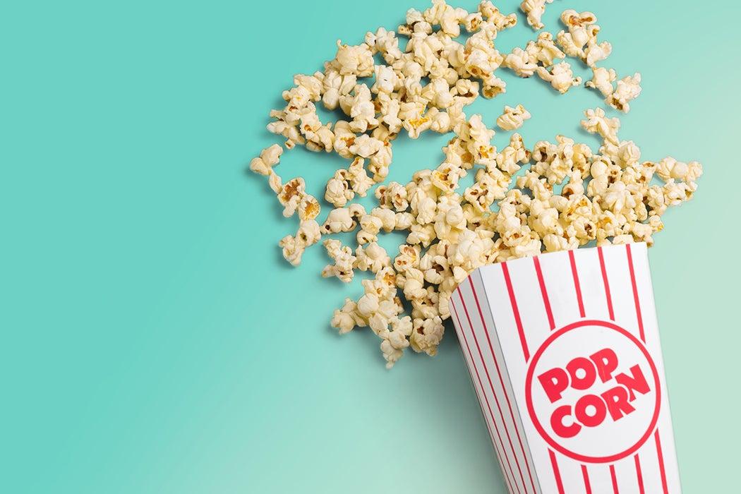 Popcorn history
