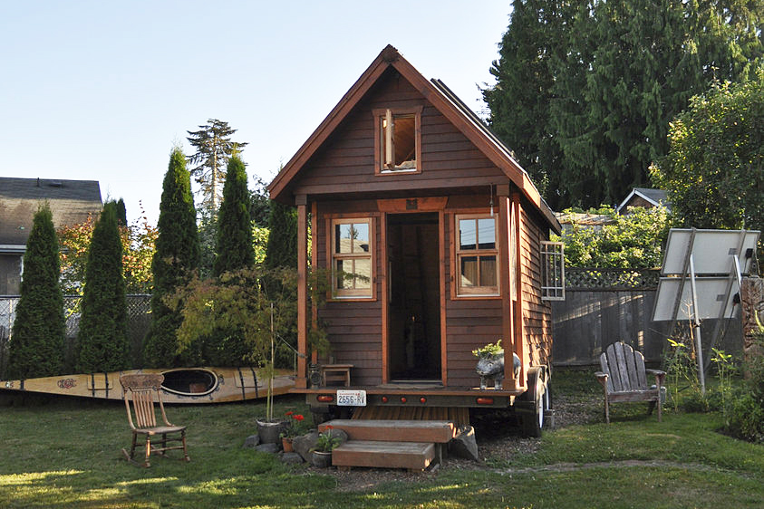 Portland OR tiny house