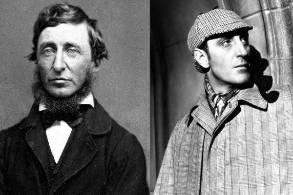 Thoreau Sherlock Holmes