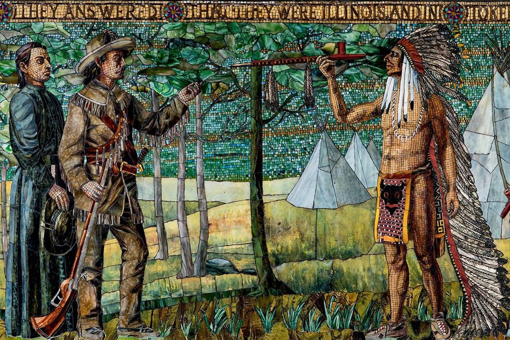 Tiffany Illinois mosaic