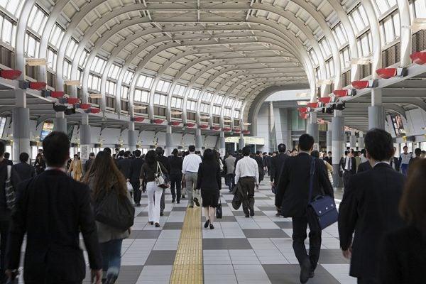 Tokyo commuters