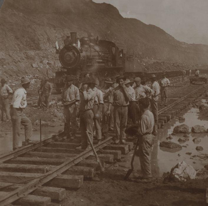 Spanish laborers, 1914