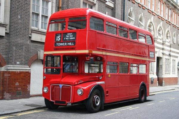 Red London Double Decker Bus