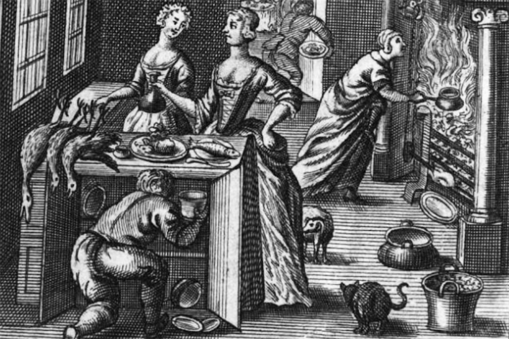 Compleat Housewife frontispiece