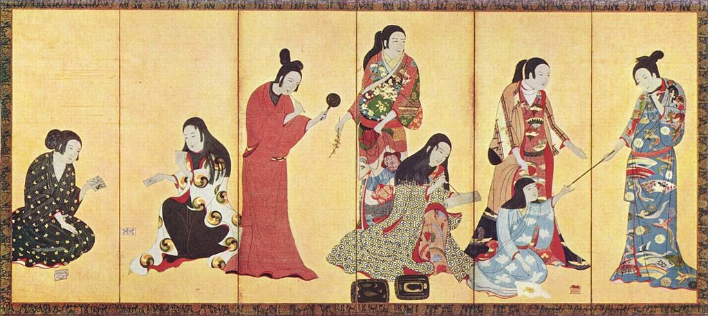 Kimono screen