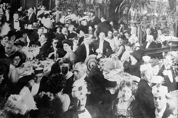 New Years Eve 1910