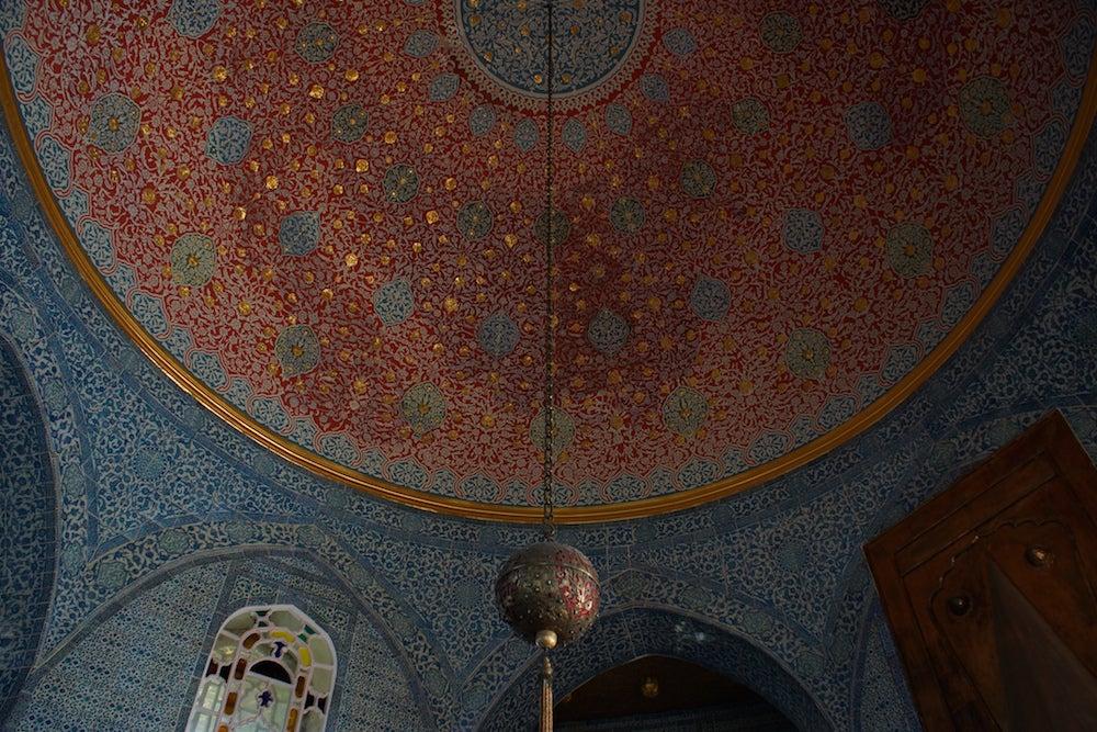 Topkapi Palace interior