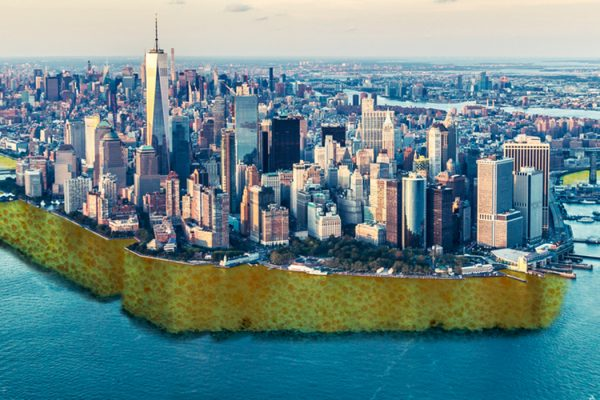 A Spongey Lower Manhattan